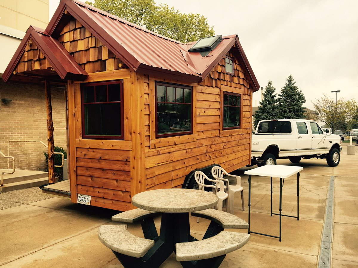 tiny house expo. Kylie Osterhus On Twitter: \ Tiny House Expo