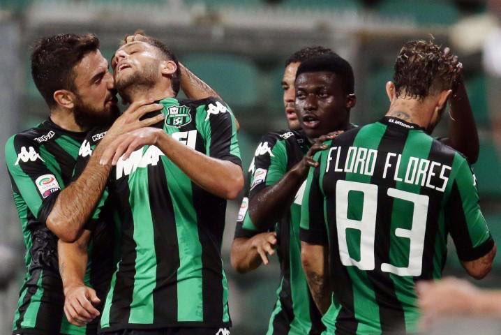 Risultati Serie A TIM: vittorie importanti di Sasuolo e Palermo, tra poco diretta Fiorentina-Juventus, domani Roma-Napoli e Verona-Milan
