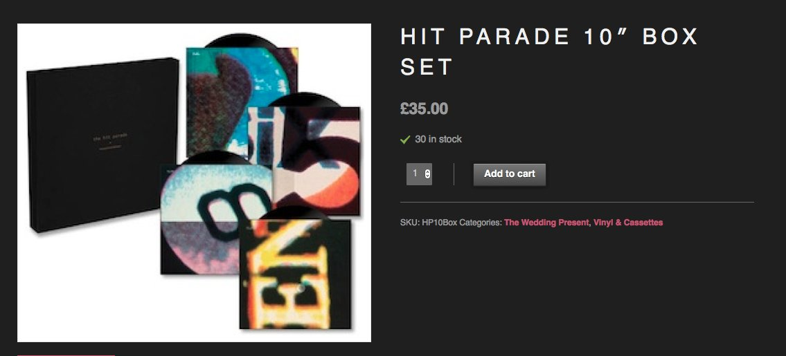 "The new Hit Parade Quadruple 10"" box set is now available on our web site. https://t.co/IXNkDdRlOW… https://t.co/grInt0nFAq"