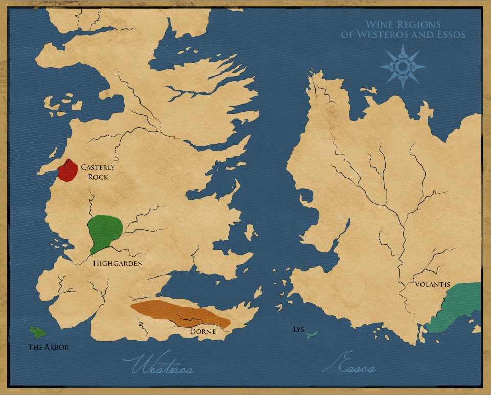 Karte Westeros Essos Deutsch.Vivino On Twitter Explore Wines Of Westeros And Essos And Learn