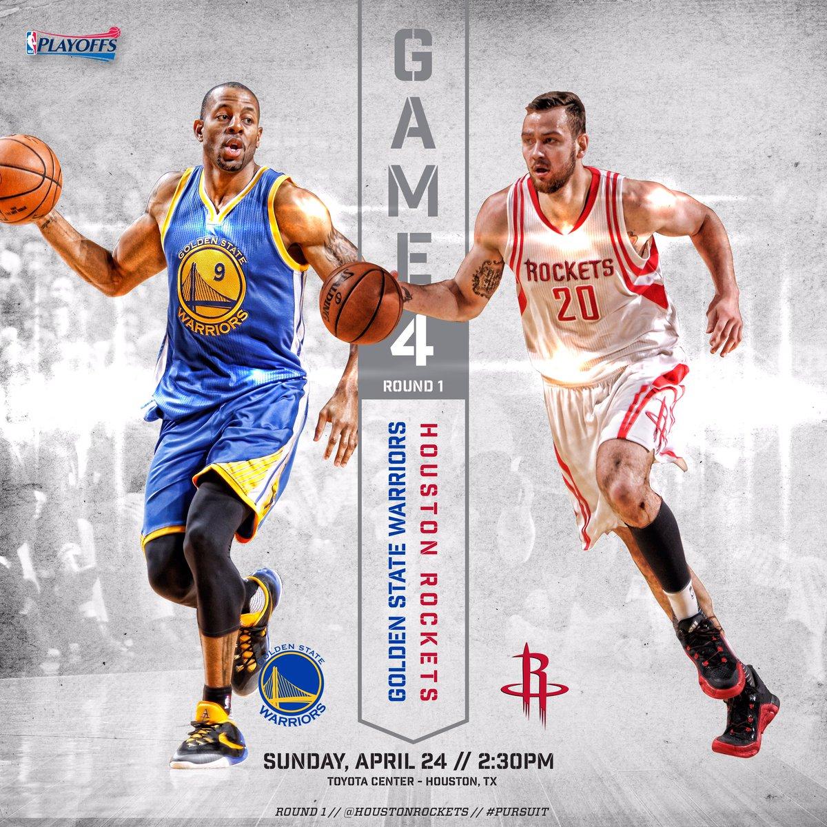 Rockets Vs Warriors May 24: Tom (@TgSea__)