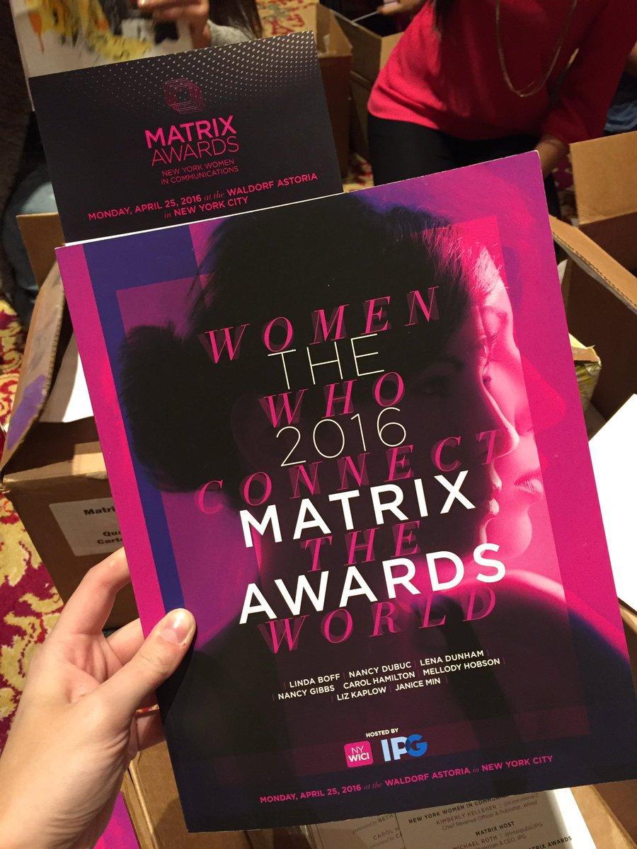 Thumbnail for The 2016 Matrix Awards