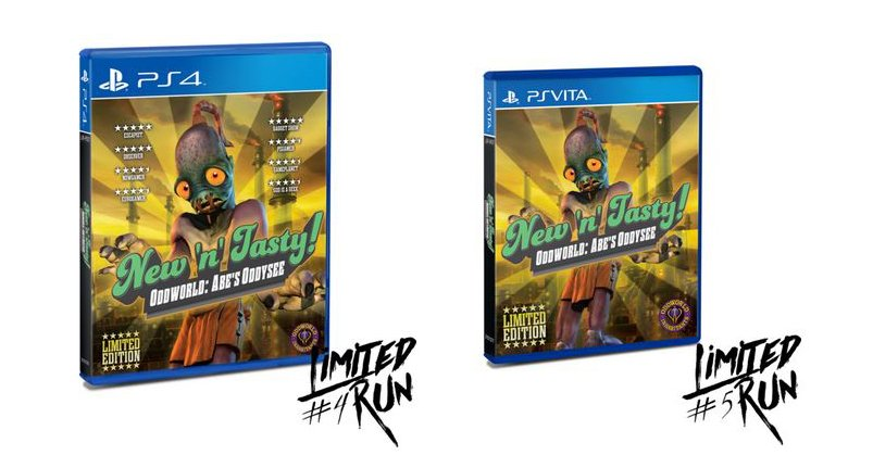Follow & RT for a Chance to Win Oddworld: New 'n' Tasty (PS4 & Vita) by @LimitedRunGames .  Ends 10PM EST. https://t.co/hQQxSr2wol