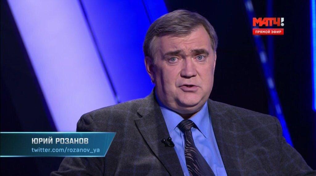 Юрий Розанов признан лучшим комментатором года