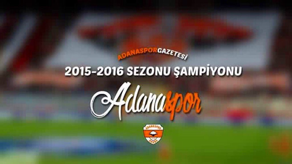 Once bankrupt, forever friendly and now back in the Turkish Super League! @Adanaspor are promoted! #Adanaspor https://t.co/TcyLbOHN1V