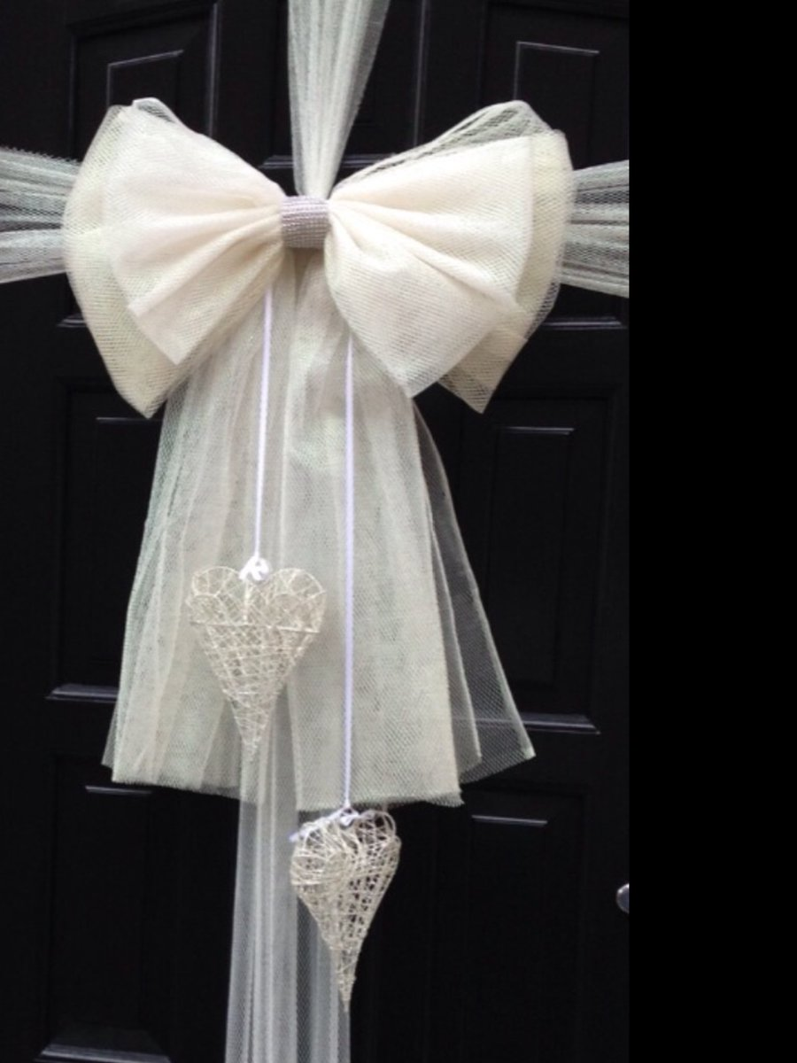 Dress My Door on Twitter  #wedding bliss #weddingbows #door bows #Edinburgh #Aberdeen #Glasgow we post anywhere for your #specialday ... : door bows - pezcame.com