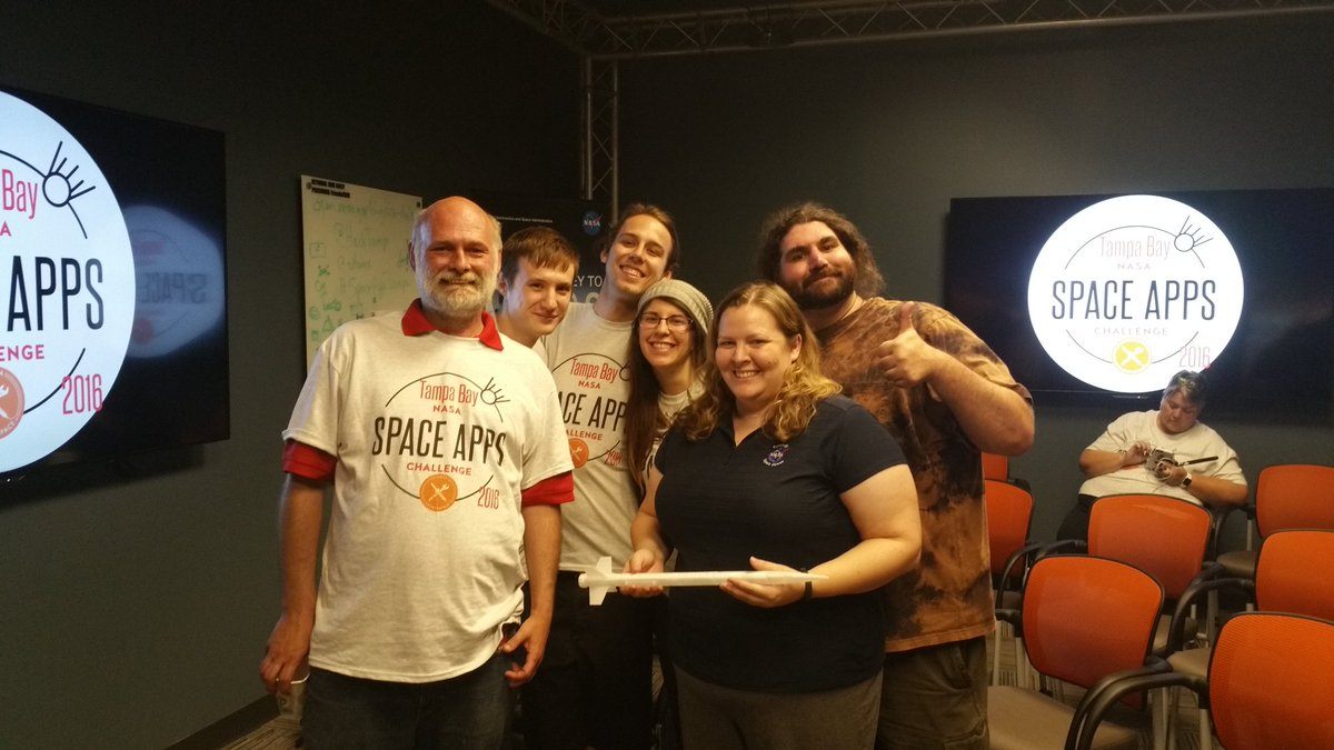 @MilesSpace @sofwerx @HackTampa @nasa #SpaceApps #SpaceAppsTampa Wooo! We're Global Impact Nominated! https://t.co/nSHxZz8hqp