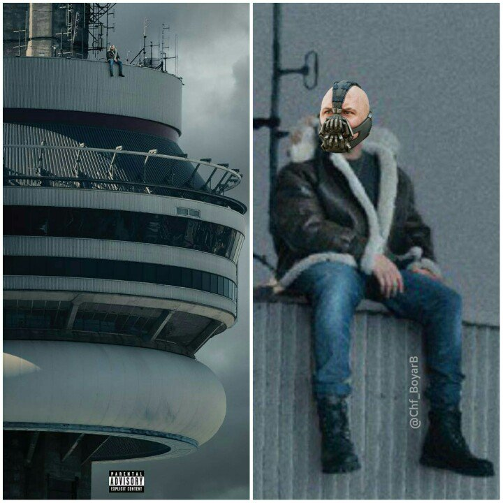 I knew that jacket looked familiar... #Views https://t.co/aMR5Yo9A0B