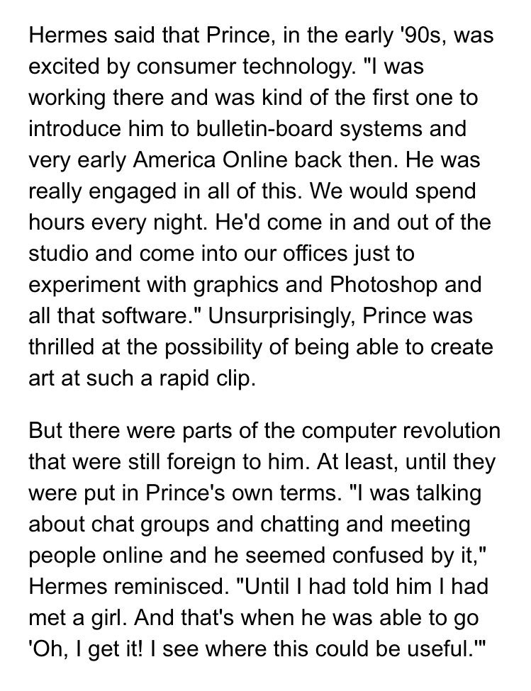 Anil Dash On Twitter In My Computer Prince Says Sunday Night