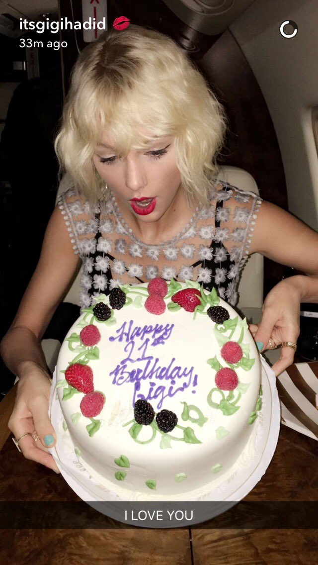 Astounding Taylor Swift News On Twitter Gigi Just Posted This Photo Of Funny Birthday Cards Online Elaedamsfinfo