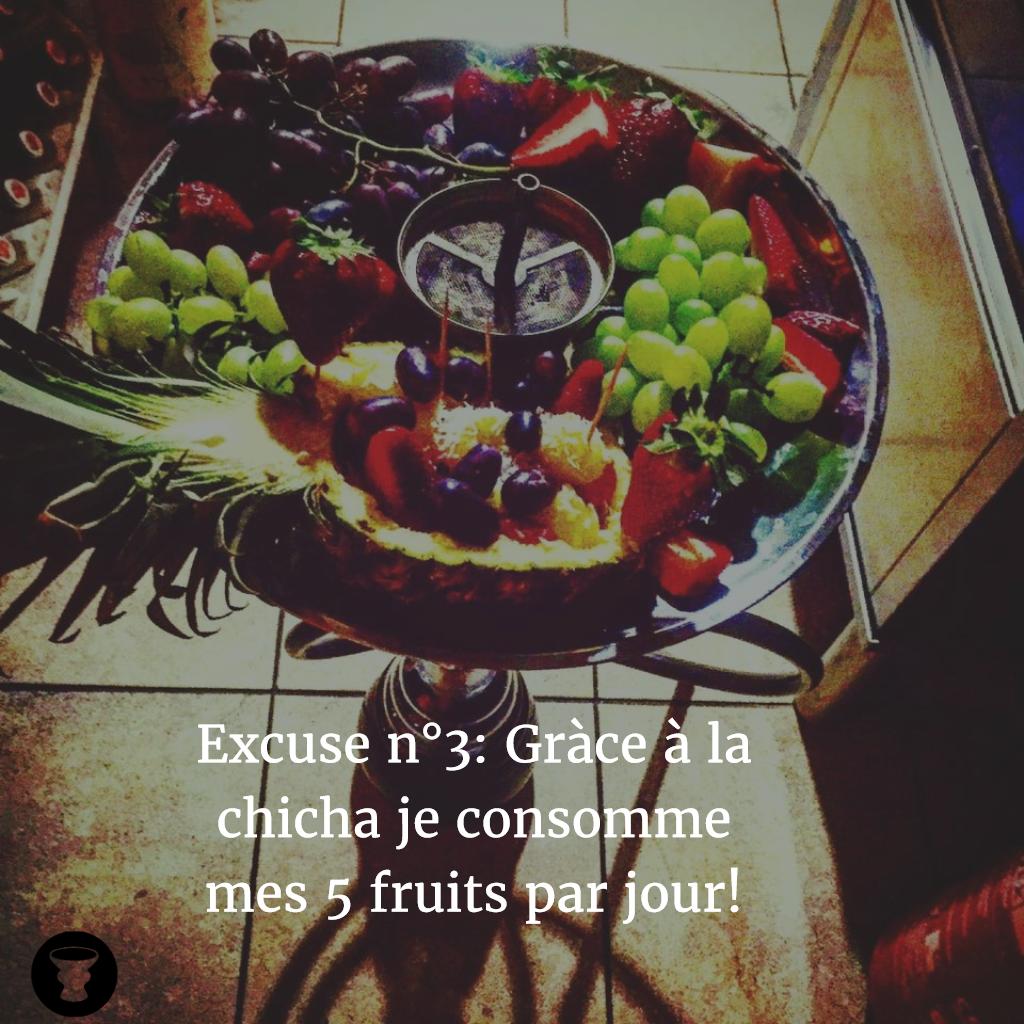 Toutes les excuses sont bonnes pour une chicha!  http:// buff.ly/1SAPmLc  &nbsp;   #darnashop #chicha #narguilé<br>http://pic.twitter.com/wEaeA2DujE