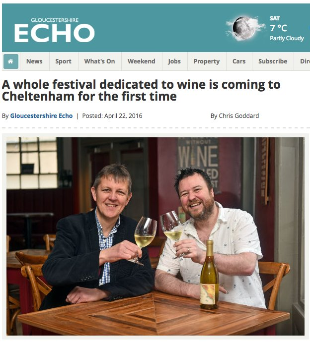 WINE LOVERS can still enter a FREE DRAW to WIN 2 TICKETS at https://t.co/0nZDrHjmkw GOOD LUCK #Cheltenham #Cotswolds https://t.co/Sp3LtO40rZ