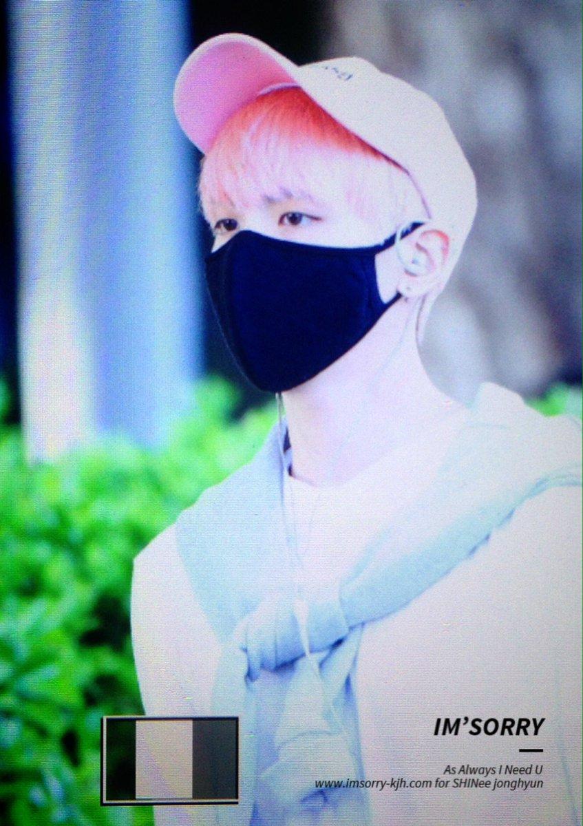 160425 Jonghyun @ Aeropuerto de Incheon {Llegada a Corea} Cg4DbsEU8AAdPOo