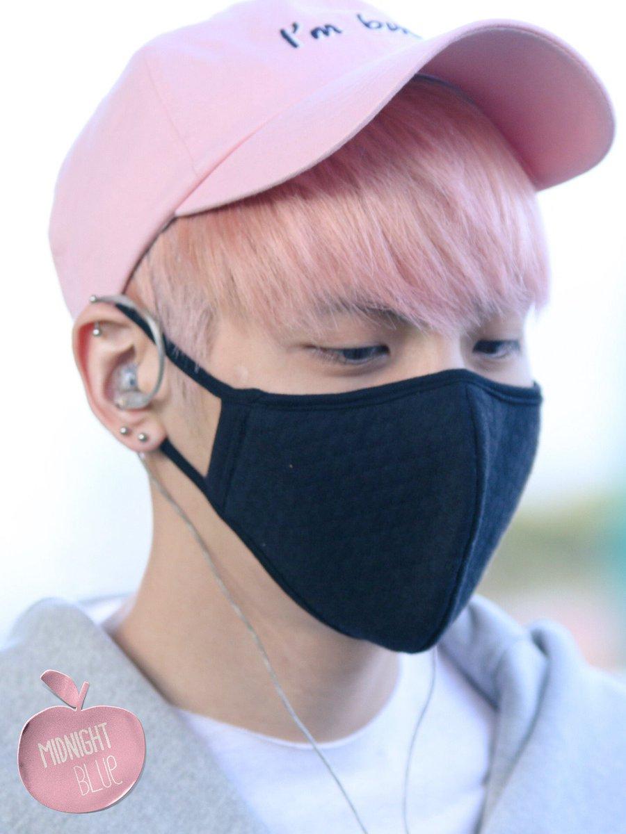 160425 Jonghyun @ Aeropuerto de Incheon {Llegada a Corea} Cg4HZO6UkAA14b7