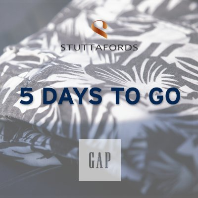 This account will be merging with @Stuttafords_za. Be sure to head over there for your GAP fix. https://t.co/qKgawfzgNu
