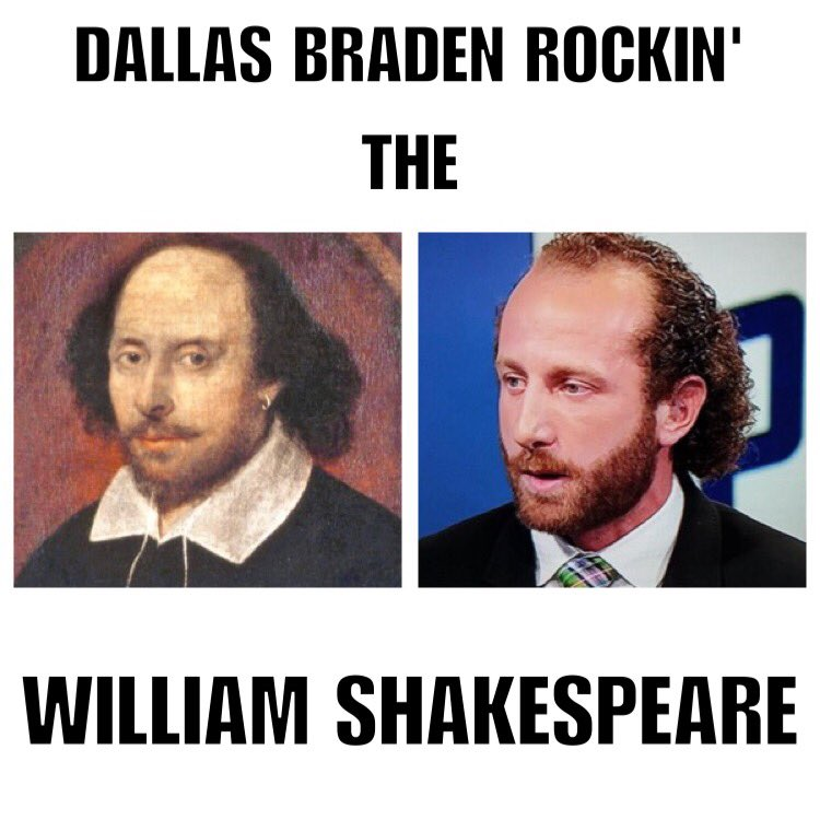 I'm a man of many stylish hairdos and don'ts. I'm just saying, if I could rock it I would! @DALLASBRADEN209 https://t.co/dFCfHu1jUe