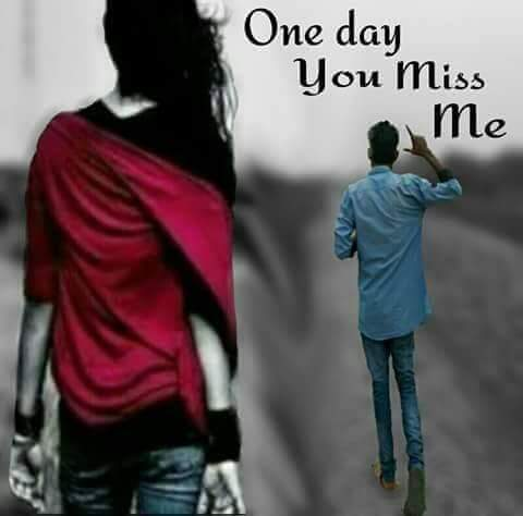 One Day U Will Miss Me Girl Image Abycamp