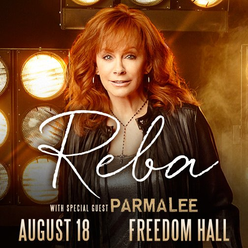 JUST ANNOUNCED: @Reba McEntire with special Guest @parmalee is coming to the Kentucky State Fair! https://t.co/YXaqRF05XL