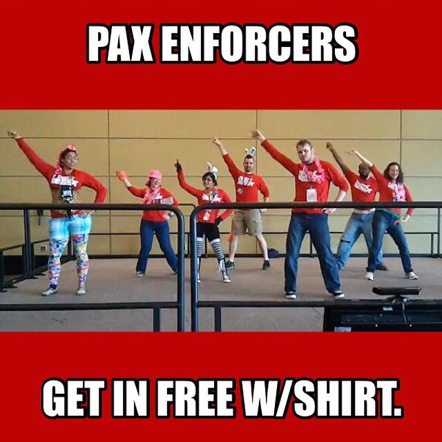 Tonight for @Protomen - #PAXEast #PAXEast2016 ENFORCERS GET IN FREE. Wear your shirt. Thank YOU! https://t.co/hPTtEMhCPF