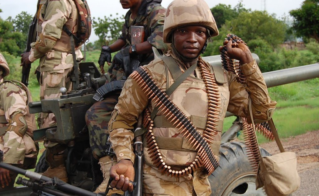 Nigerian troops ambush insurgents trying 'to link up with their wives and children' https://t.co/84mtCwixBN https://t.co/un8vB75QqM