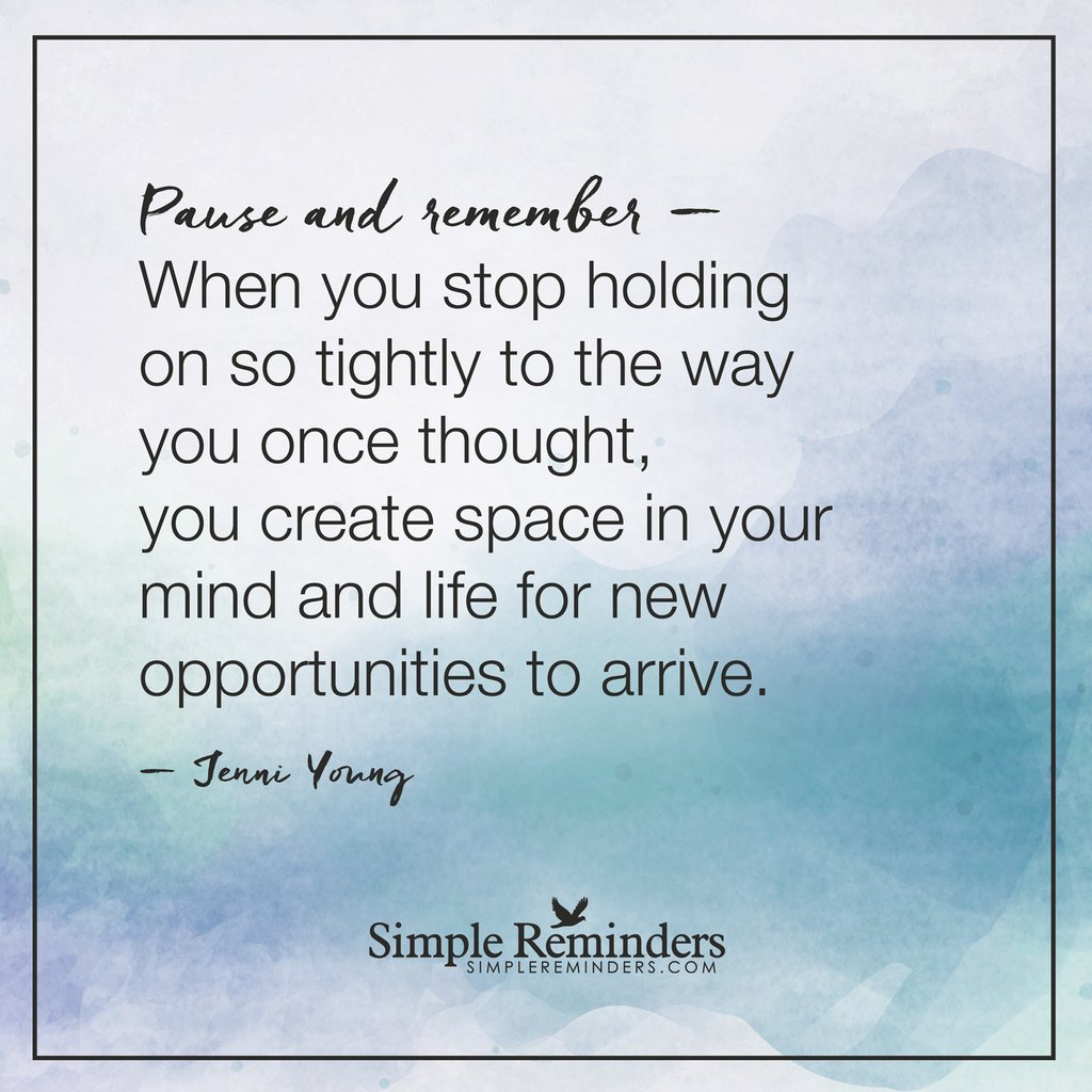 Jenni Young: Pause and remember— When you stop... #Quotes #SR https://t.co/mlEFHJF2T0