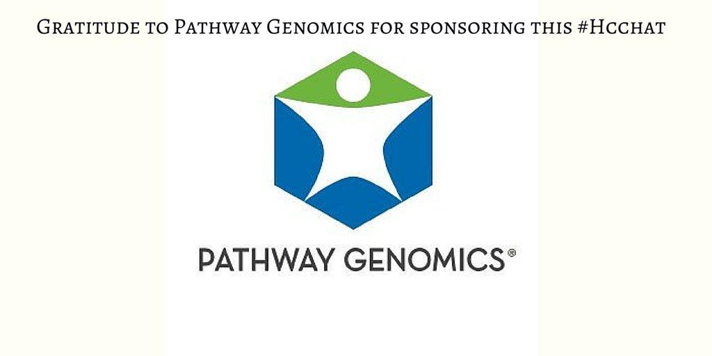 #Hcchat Gratitude to @PathwayGenomics for sponsoring #Hcchat!  #HereditaryCancer #GeneticTesting https://t.co/urPEMetn1G
