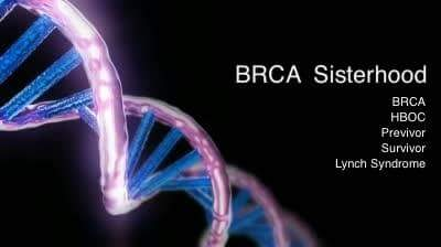 I am also #brca positive and a huge patient advocate from #montreal #Hcchat https://t.co/3yxGkFNgPn