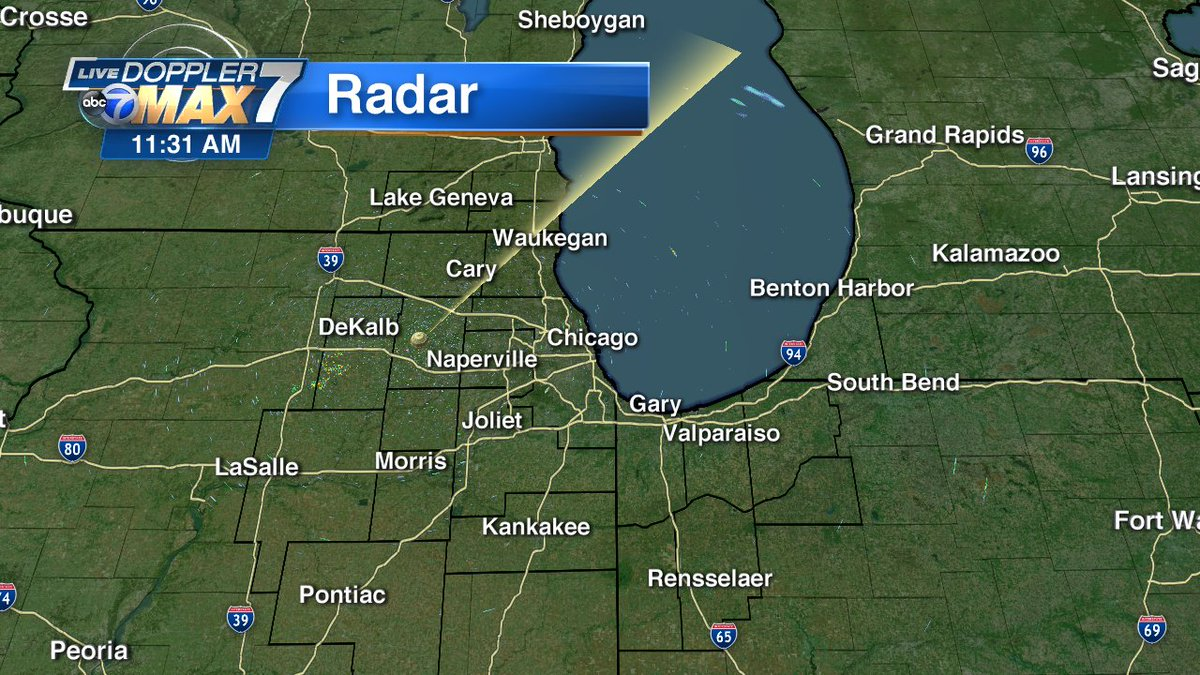 Abc 7 Chicago On Twitter Live Doppler 7 Max Quiet For Now But Strong To Severe Storms Are Possible This Evening