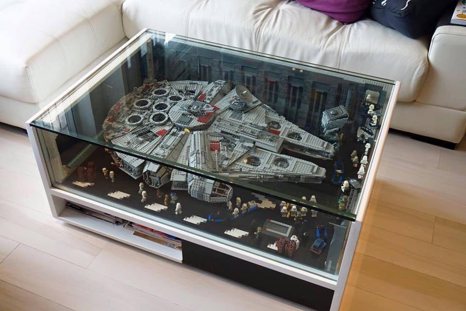 Star Wars Coffee Table On Twitter U0026lego Starwars Millennium Falcon - Star Wars Coffee Table - Coffee Addicts