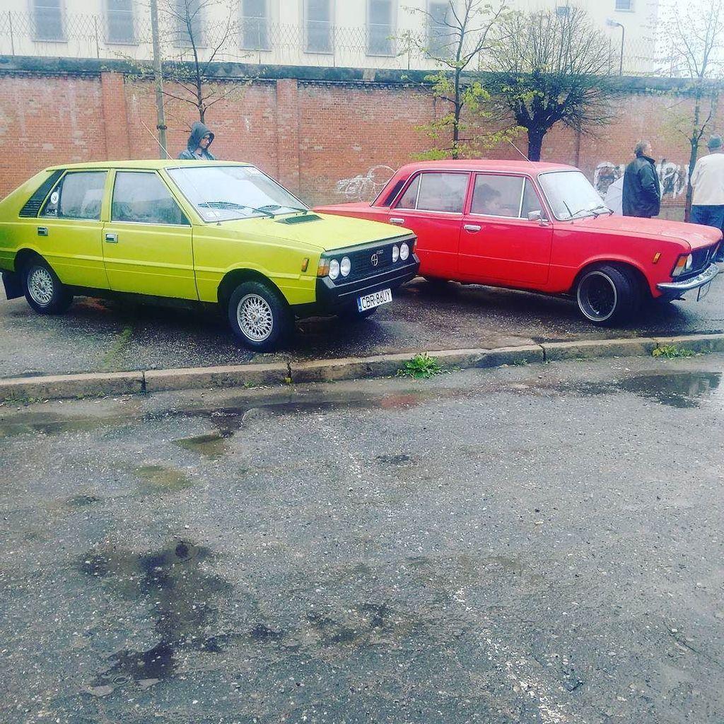 Sezon rozpoczęty :) #zlot #CGR #grudziądz #automobilklubtoruński #rozpoczeciesezonu #fso #polonez #125p #125pe #bor…