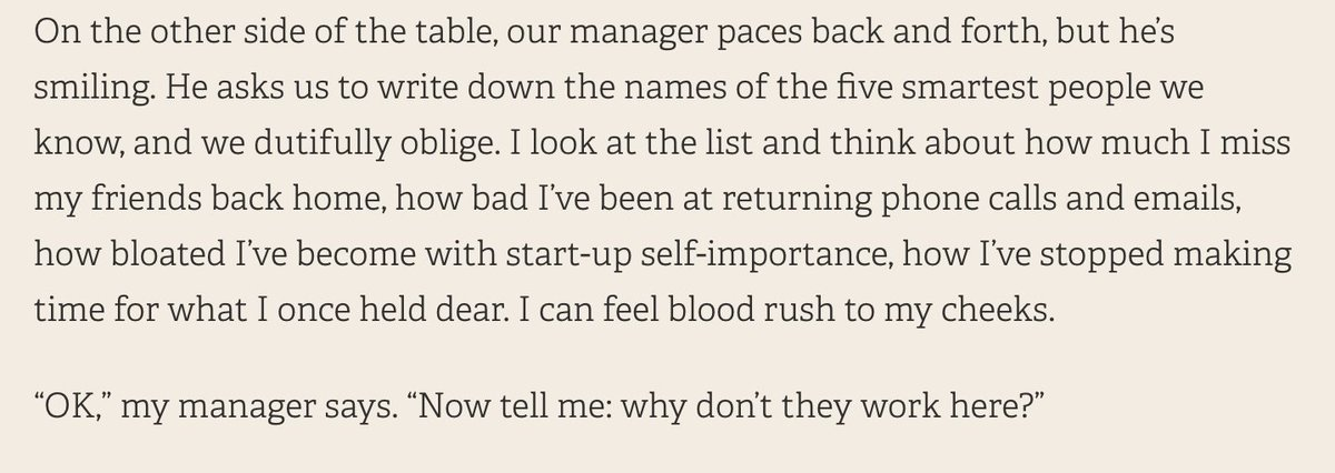 This is a masterpiece. On the surreality of working in Silicon Valley, by @annawiener: https://t.co/0ifgmDXm3H https://t.co/NaPq79XoJb