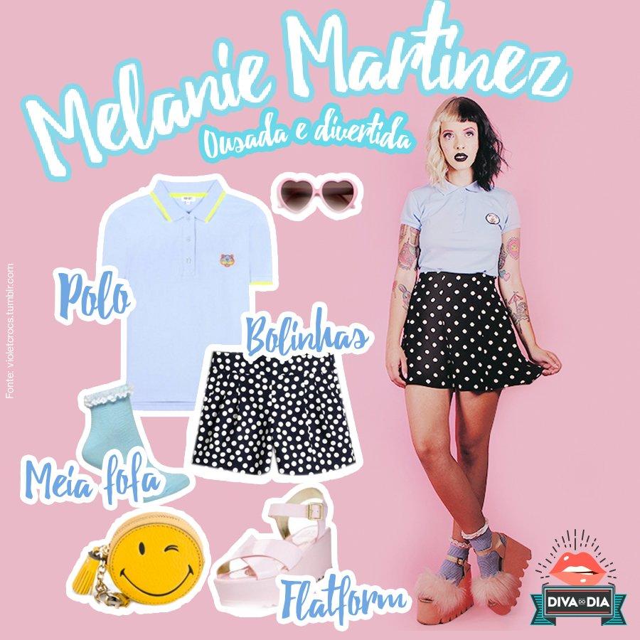 #HappyBday pra #diva Melanie Martinez c/ um look incrível p/ gnt se inspirar! #VemVer *-* #AmoMuito <3 https://t.co/cF5os8BD7A