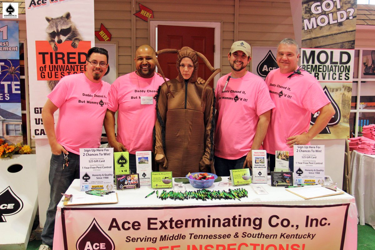 Ace Exterminating On Twitter To Say Our Time At The Southern Women S Show Nashville Was Crazy Would Be An Understatement Southernwomensshow2016