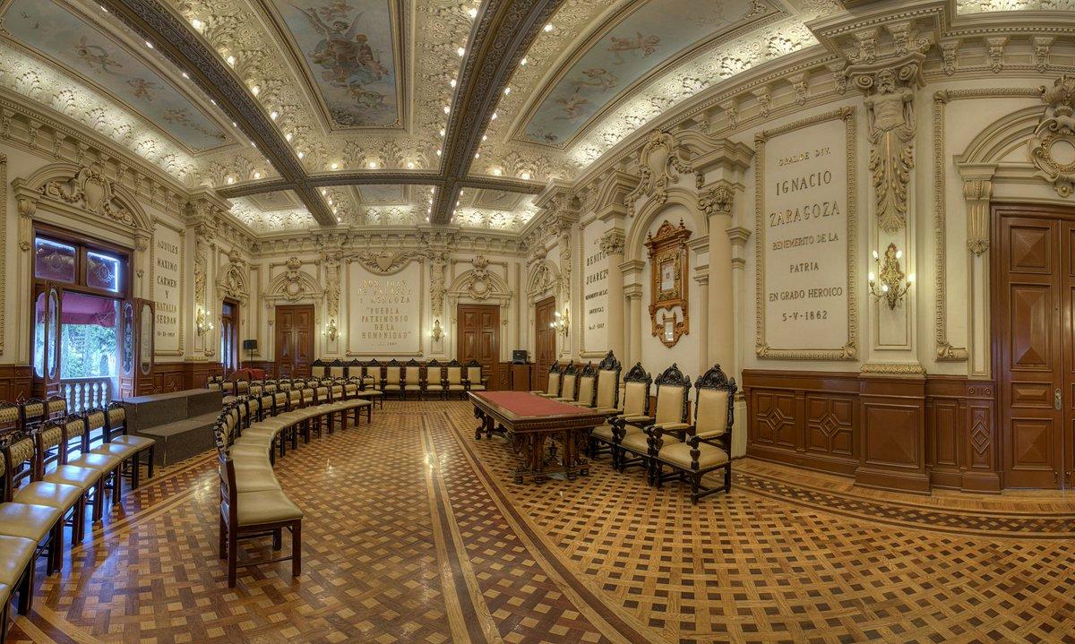 Salòn de Cabildos de Puebla