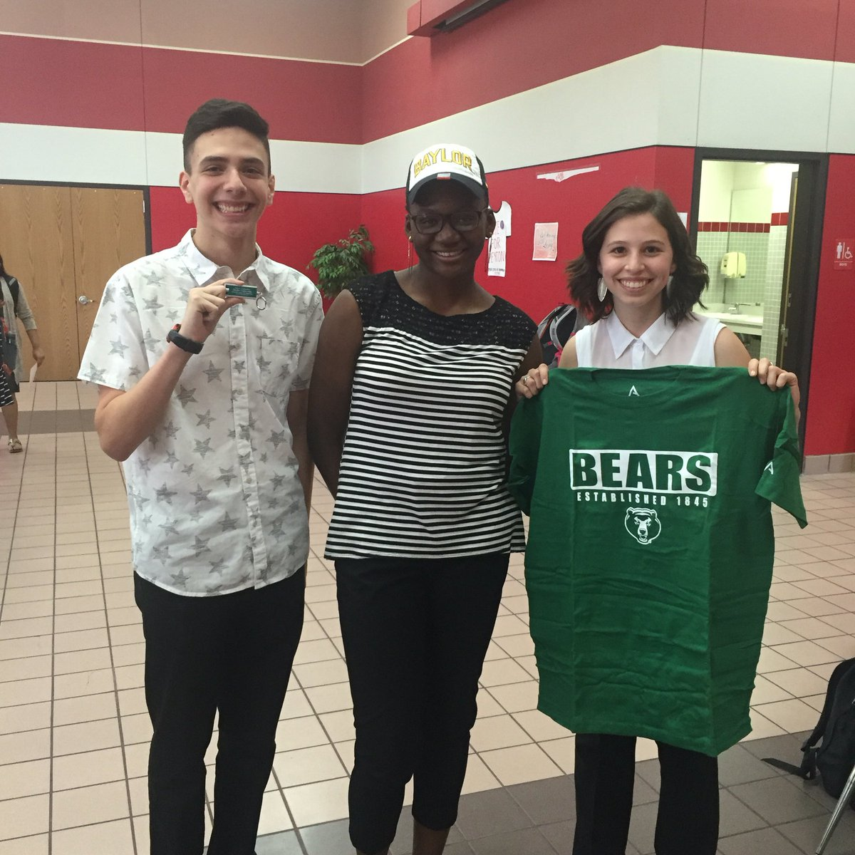 Thanks to @BaylorSOE for supporting #PKD2016 #CHSWeAreOne #SicEm https://t.co/6Eswxo3ceY