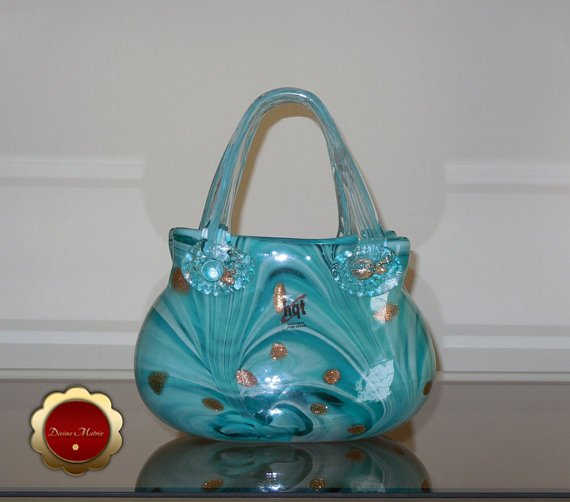So Cute!! Glass Art Handmade Glass Handbag Glass Purse by DivineMatrix https://t.co/sGTzcuJMlT via @ #Etsy https://t.co/bUyOqQWfym
