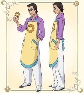 前田健さんはなーカオルちゃんってドーナッツ屋役でプリキュア出てたんやで、、、EDの振り付けも何年かやってましたね、、、 https://t.co/a5JkVwLXIe