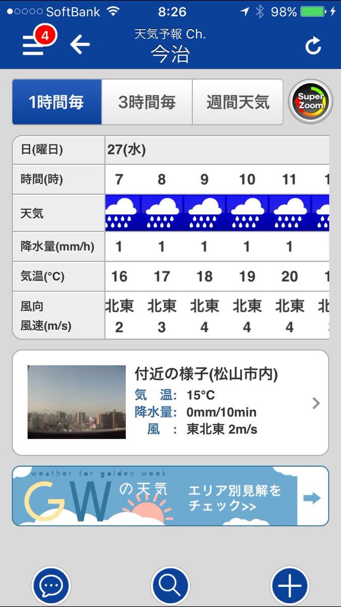 天気 今治 の 明日
