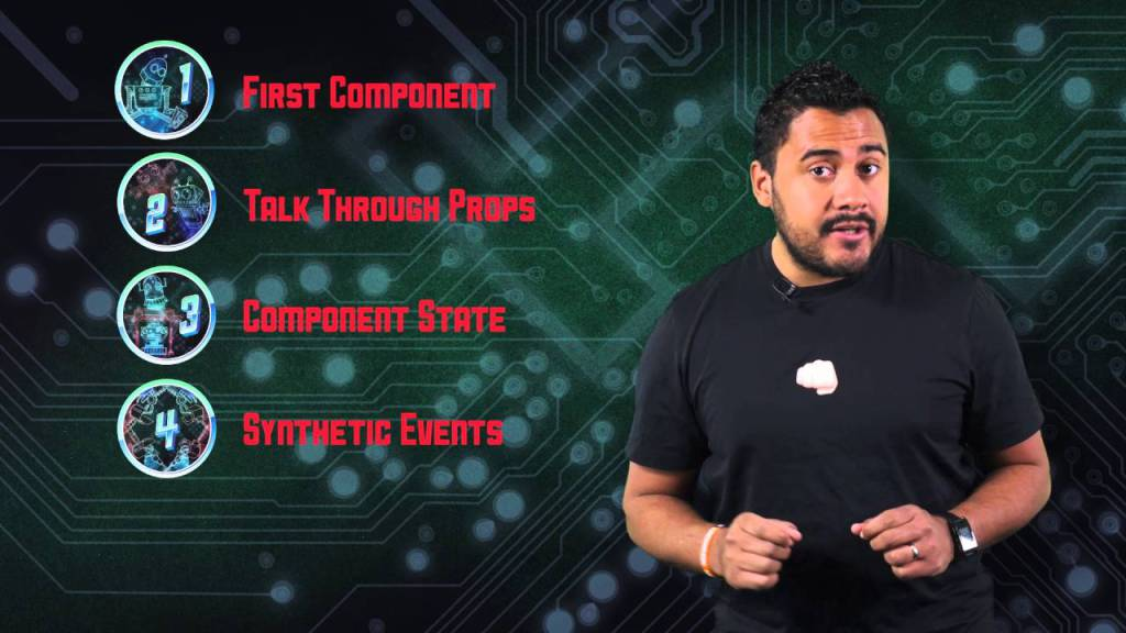 Powering Up with React Course Intro