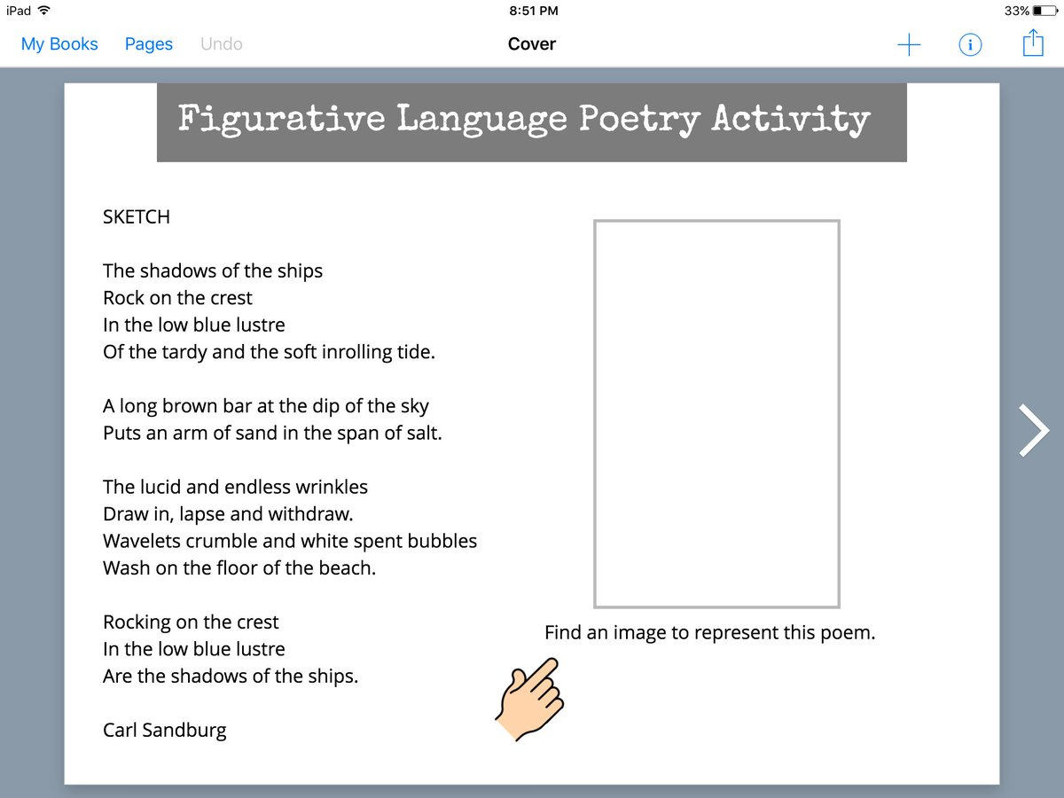For J/I Ss, here's a Figurative Lang. Poetry activity for @BookCreatorApp. https://t.co/L01eFC5eqD #poetrymonth https://t.co/tAzbHWdIYW