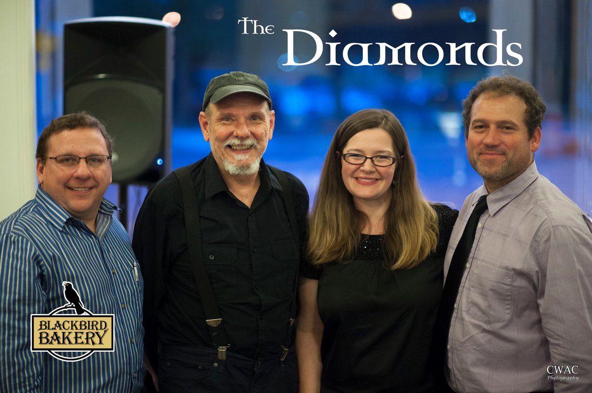 The Diamonds will be entertaining us with some jazz on Thursday, April 28th from 7-9pm. Come enjoy the fun!