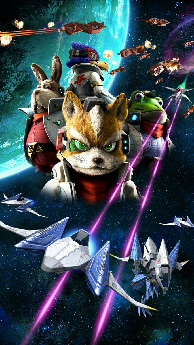 LYS On Twitter Star Fox Zero Wallpapers For Mobile Phones Distributed By Nintendos Official LINE Account In Japan