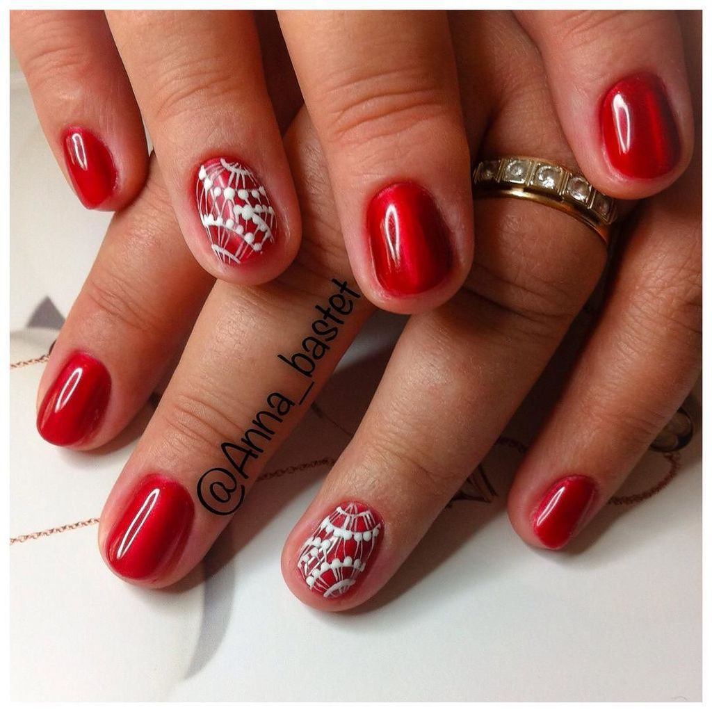 anna_bastet: #маникюрновосибирск #ногтиновосибирск #новогодниеногти #нейларт #ногти #нск #шеллакновосибирск #шеллак…