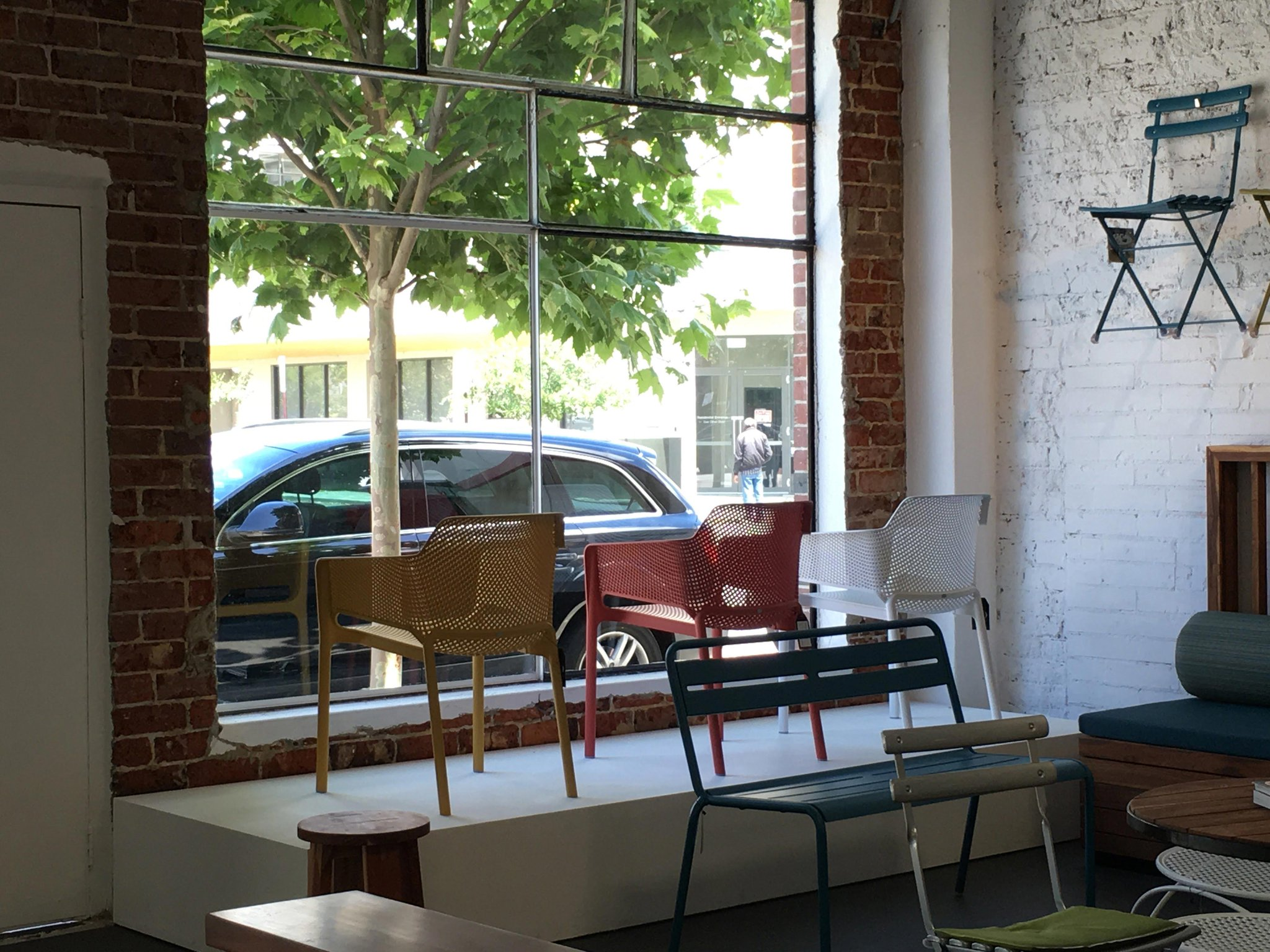 Nardi Outdoor On Twitter Nardi Net Chairs Showcased In A Cool Store In Perth Australia Madeinitaly Design Around The World