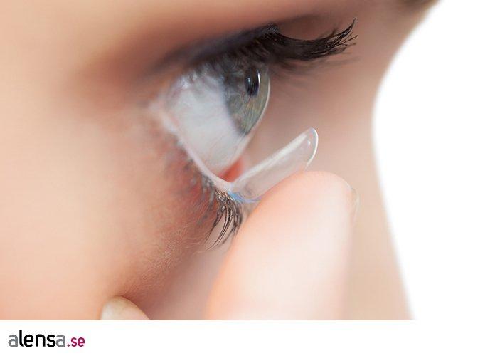 kan linser försvinna i ögat