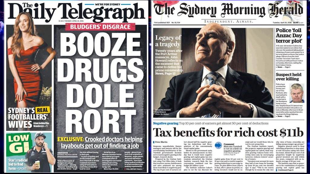 Who is ripping us off today, the rich or the poor? Guess it depends which paper you read...#mediawatch https://t.co/d4LeJMWkXG