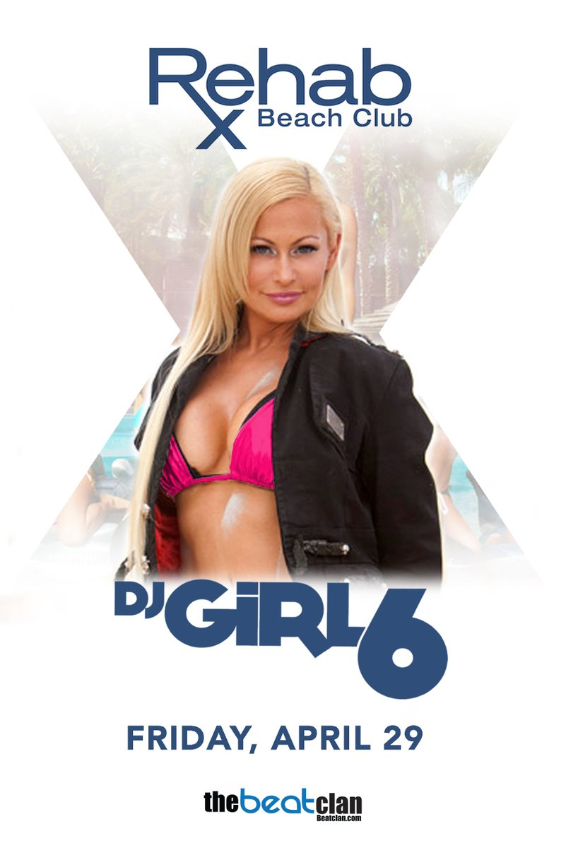 Bottle Service Giveaway @rehablv with DjGirl6 - April 29th  RT+Follow @djgirl6  Enter Here: https://t.co/CNgE1KoCis https://t.co/sneXgvakPR