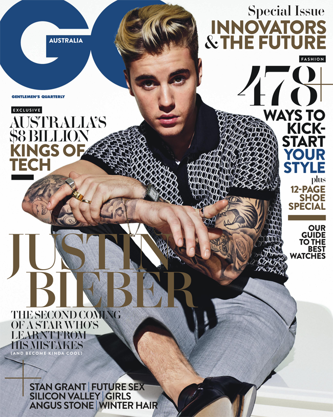 The one and only @justinbieber graces the May cover of @GQAustralia. #Beliebers https://t.co/5CsOikCRBq https://t.co/CbXSjwt0kW