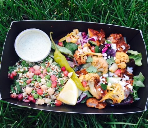 Benugo On Twitter Our Lebanese Chicken Box With Spiced Cauliflower