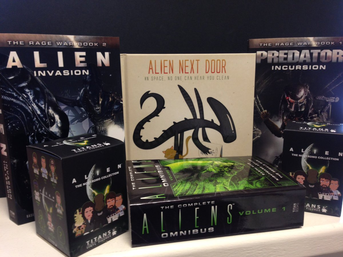 #alienday426 giveaway #RTtoWin an Alien bundle feat @timlebbon @JoeySpiotto . Open to US & UK. Ends tomorrow 12pm https://t.co/GkuEgLyI50